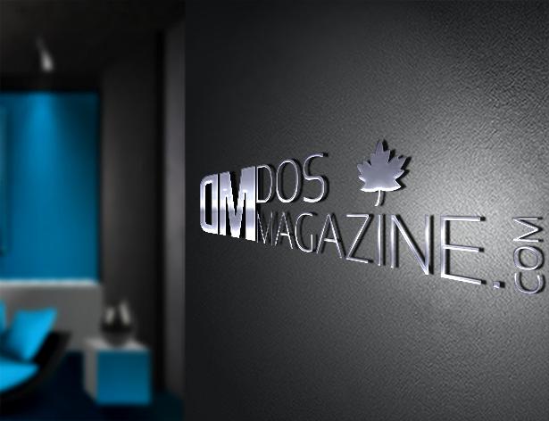Dosmagazine-wall-logo-blue