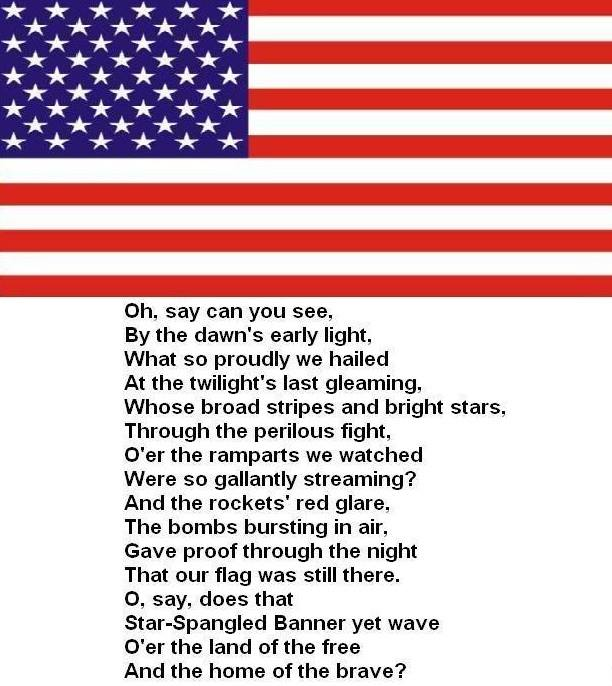 National Anthem Related Keywords - National Anthem Long ...