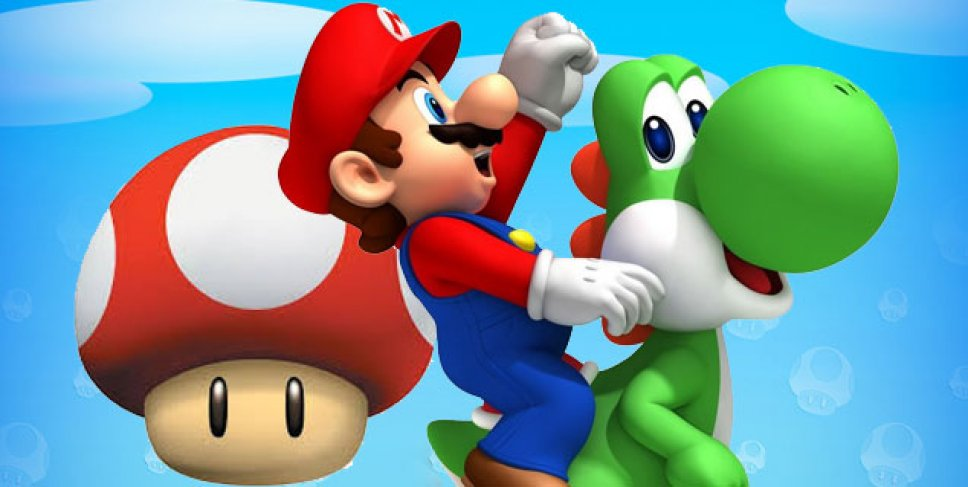 from Joseph why is super mario bros gay