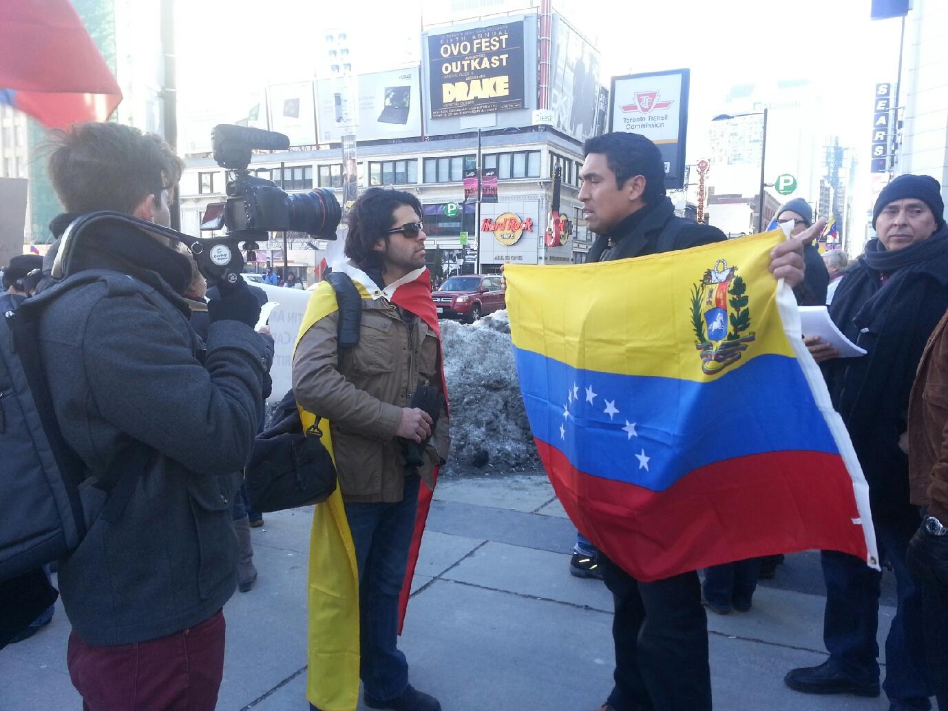 'SOS' por Venezuela, siguen manifestaciones de apoyo en Toronto