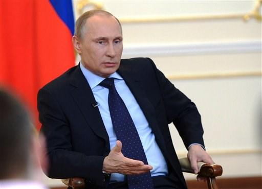 Putin: Rusia puede actuar en Ucrania