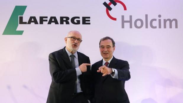Líder mundial de cemento con la fusión de Holcim y Lafarge