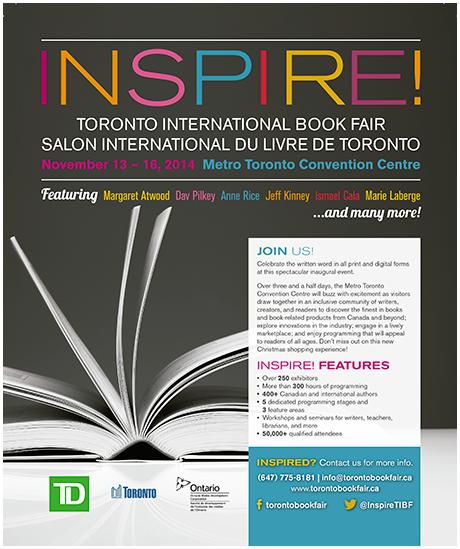 INSPIRE – La Feria Internacional del Libro en Toronto
