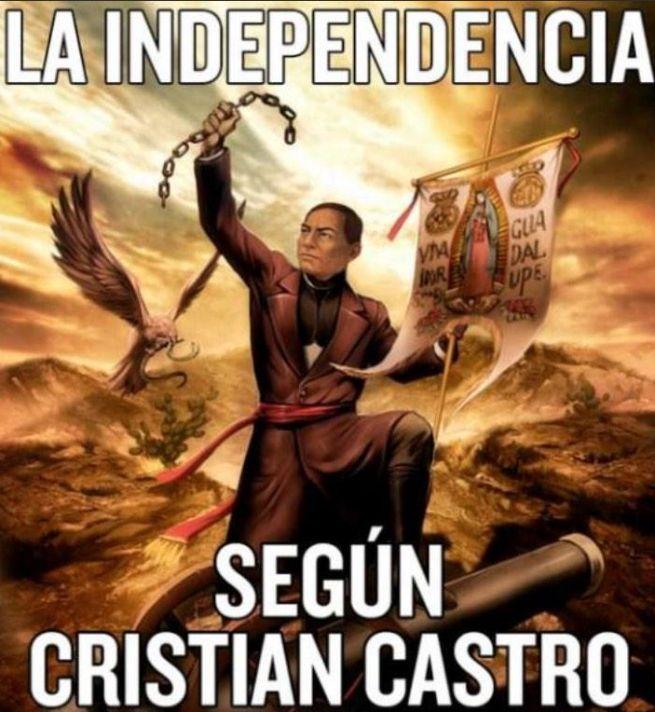México se burla de Cristian Castro por confundir a Benito Juárez