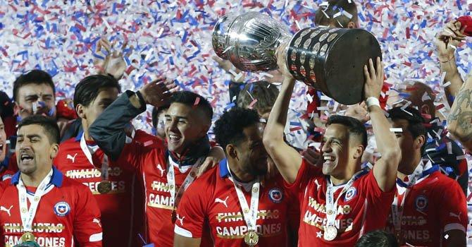 Chile ganó a Argentina y es campeón de Copa América