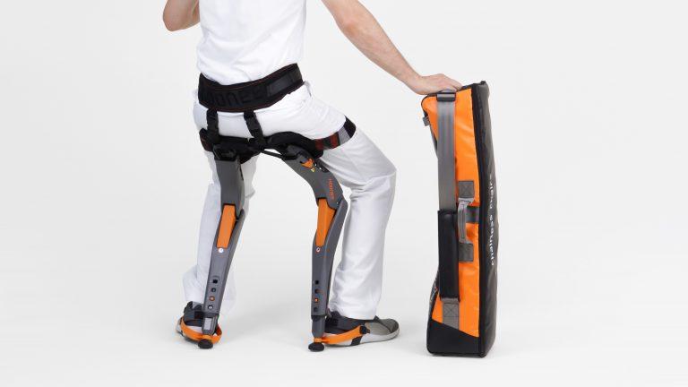 La silla bionica portátil
